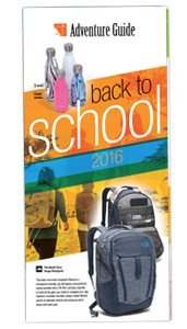 Back to School 2016 flyer