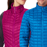 Thermoball jackets from The North Face