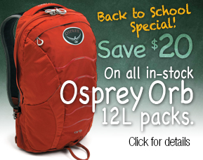 Osprey Orb packs on sale
