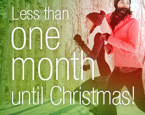 Christmas countdown - Less than one month
