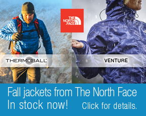 The North Face fall jackets