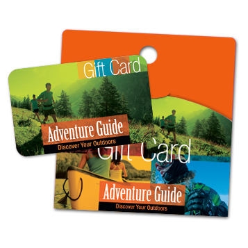 Adventure Guide gift card
