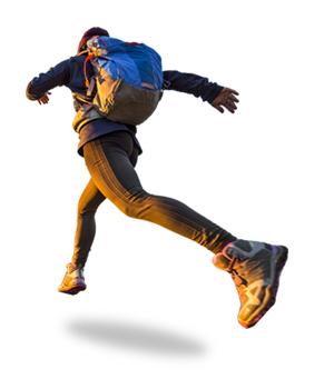 hikerjump