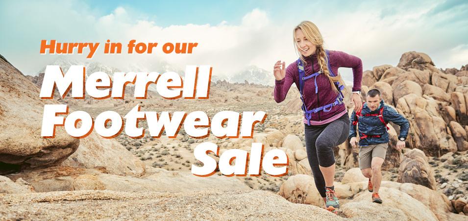 Merrell Footwear Sale 2018