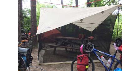 Eureka NoBugZone Tent setup