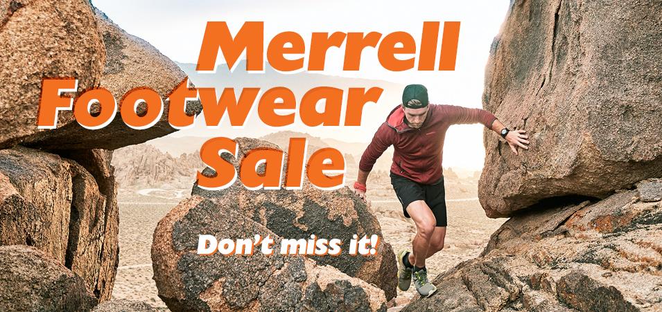 Merrell Footwear Sale