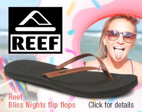 Reef Bliss Nights flip flops