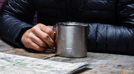 Yeti Rambler Mug lifestyle