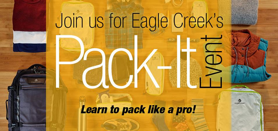 Eagle Creek Pack-It Event 2019