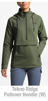 The North Face Tekno Ridge Pullover Hoodie (W)