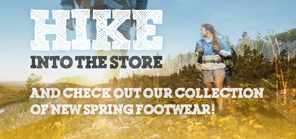 Spring hiking boots
