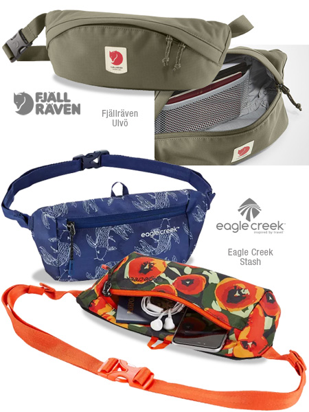 More fanny packs and waist packs