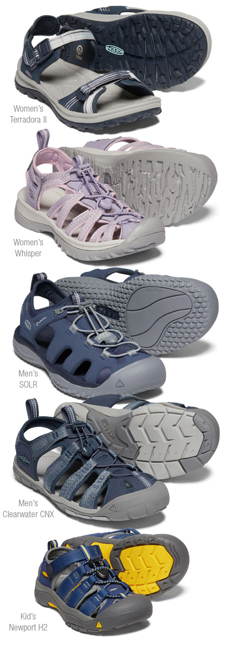 Keen sandal products
