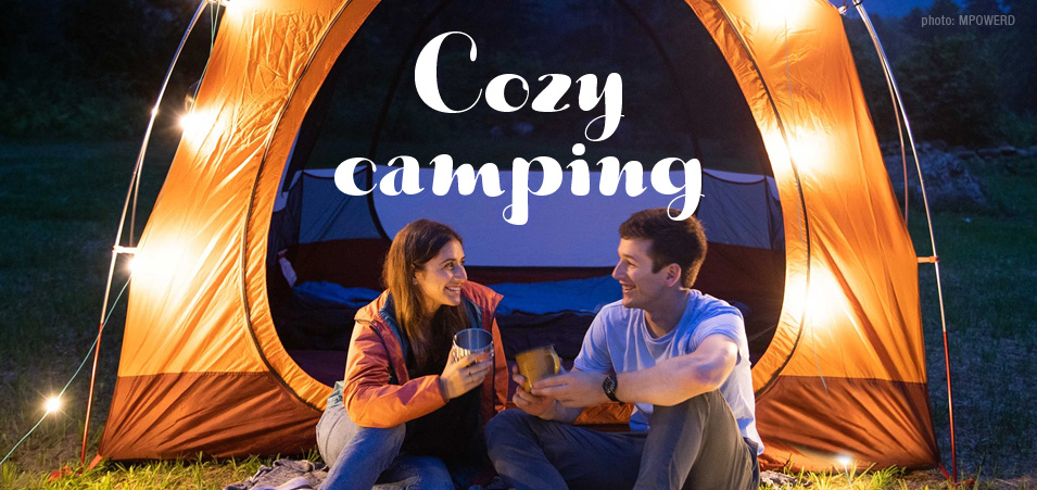 Gear for camping in comfort