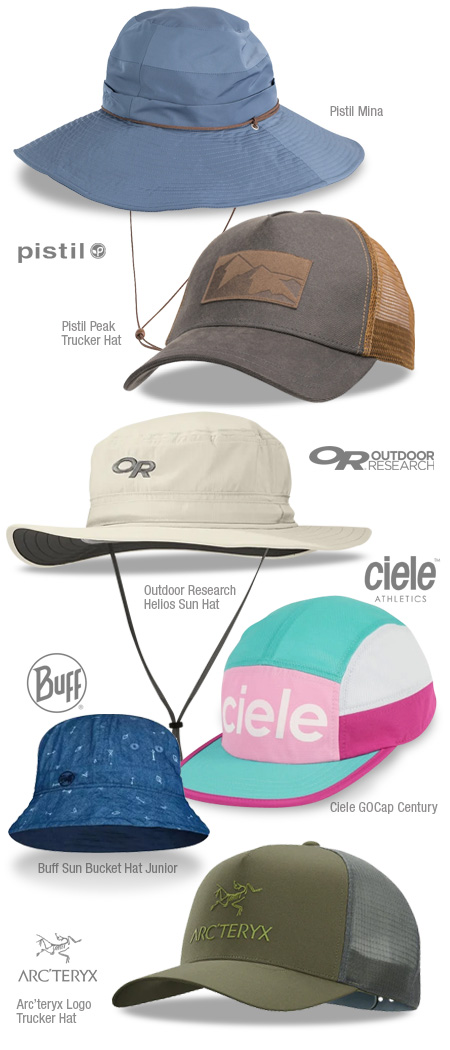 Summer hats at Adventure Guide