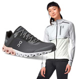 On Running footwear and clothing
