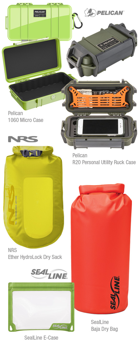 Waterproof bags and cases