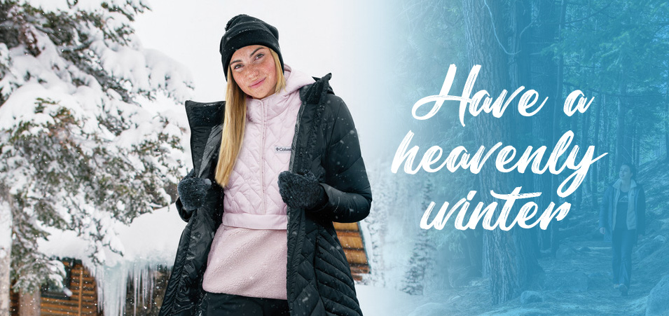 Columbia Heavenly jackets and vests