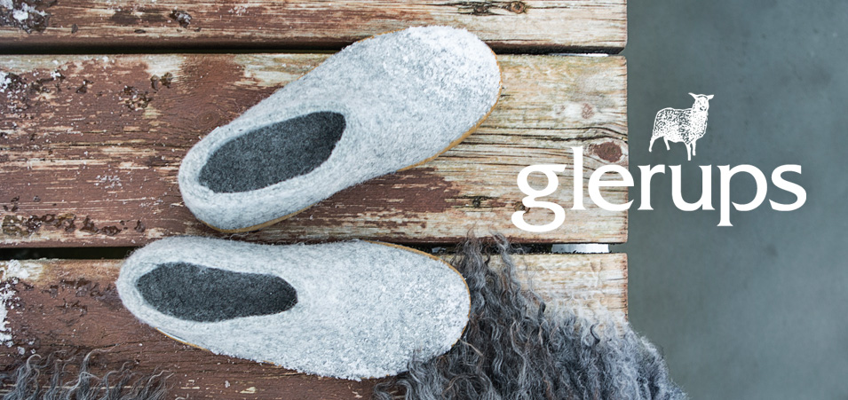 Glerups shoes, slip-ons and boots