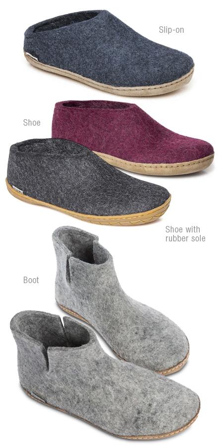 Glerups footwear products