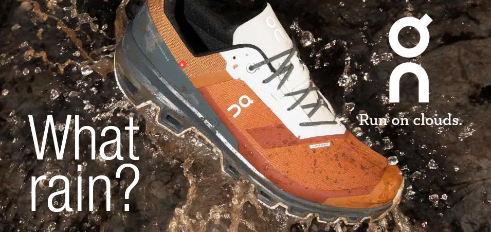 On Running waterproof footwear