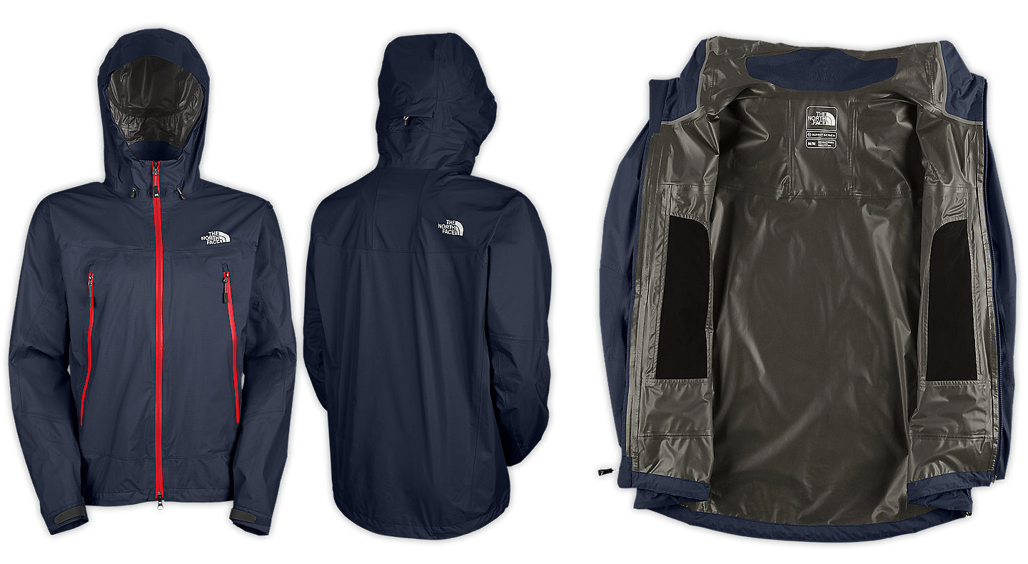 The North Face Blue Ridge Paclite jacket detail