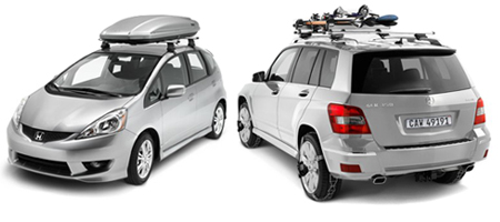 Thule racks and cargo carriers sub
