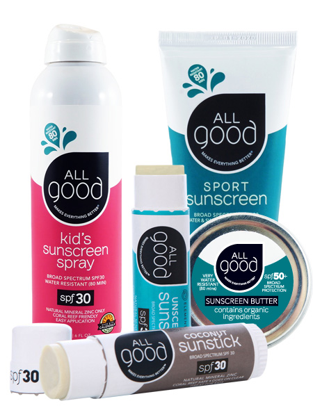 AllGood sunscreen products