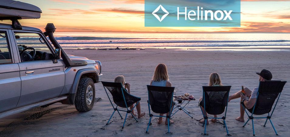 Helinox outdoor chairs