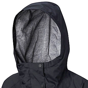 Columbia Helvetia jacket hood up