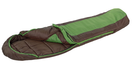 Eureka Grasshopper Sleeping Bag open
