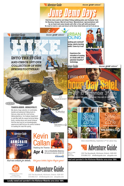 Get the latest news from Adventure Guide