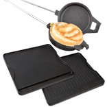 Camp Chef cooking iron and griddles