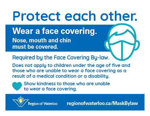 Face mask bylaw information