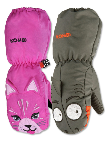 Kombi Animal Family Mitts